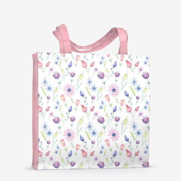 Сумка-шоппер «Цветочный ковер»