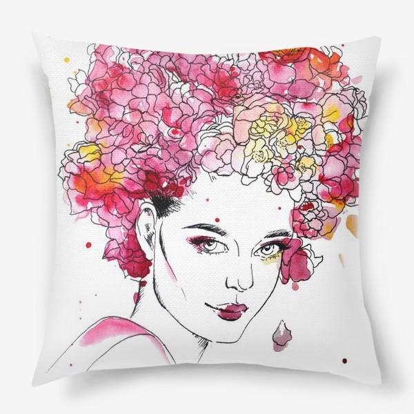 Подушка «Цветение»