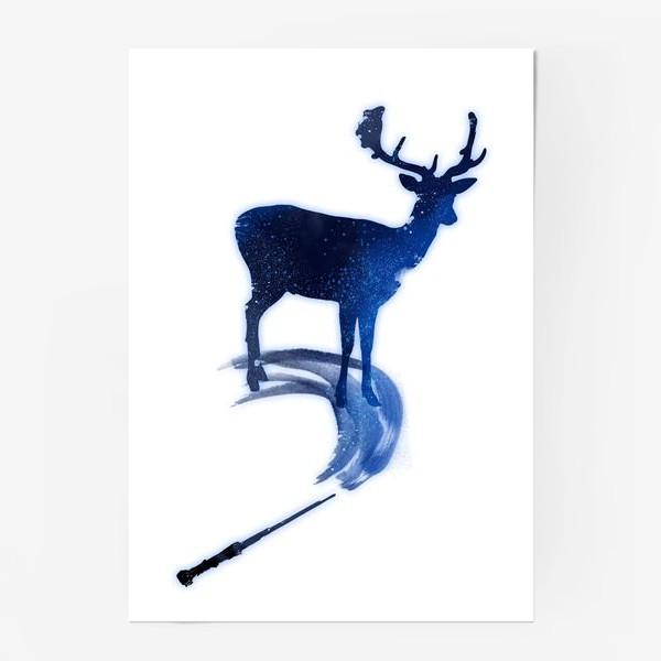 Постер «Патронус. Гарри Поттер»