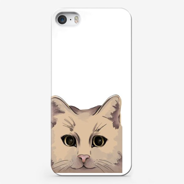 Чехол iPhone «Милый кот. Глаза»