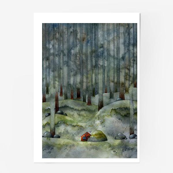 Постер «На лесной окраине»