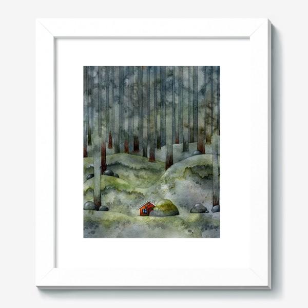 Картина «На лесной окраине»
