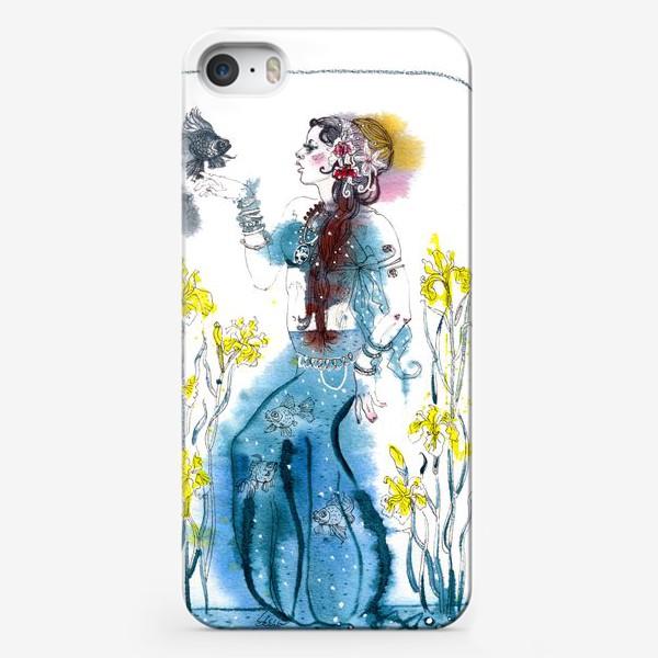 Чехол iPhone «Русалочка»