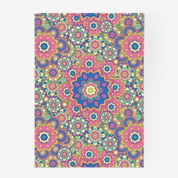 Постер «Цветочный орнамент»