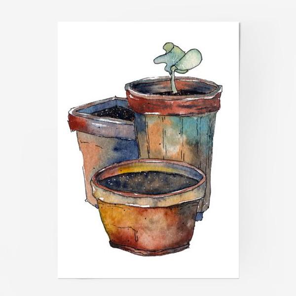 Постер «Зеленый росток»