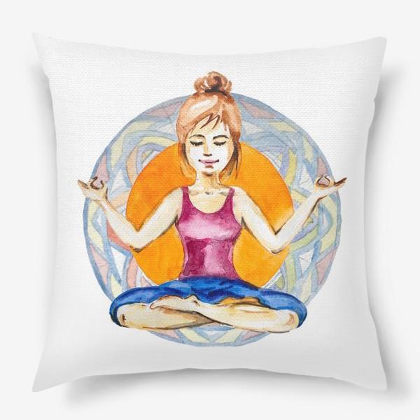 Подушка «Карма-йога»