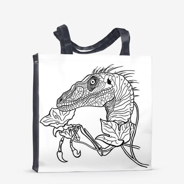 Сумка-шоппер «Велоцираптор»