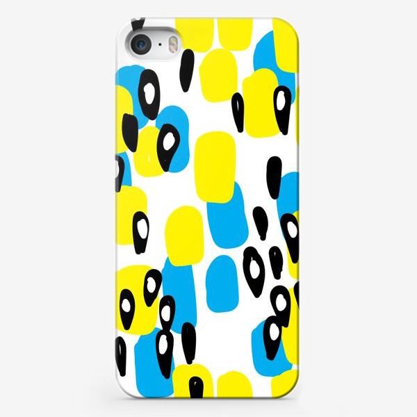 Чехол iPhone «пятнистый узор»