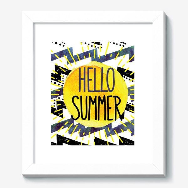 Картина «hello summer»