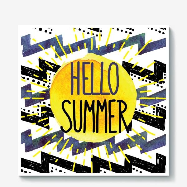 Холст «hello summer»