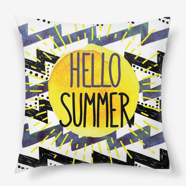 Подушка «hello summer»