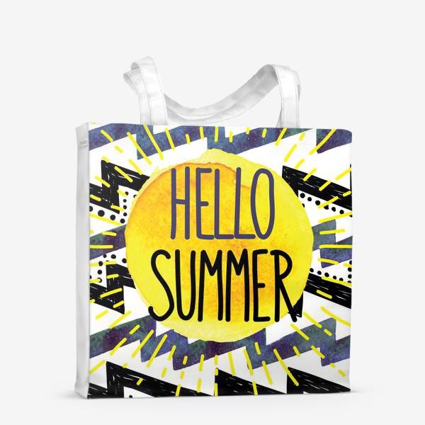 Сумка-шоппер «hello summer»