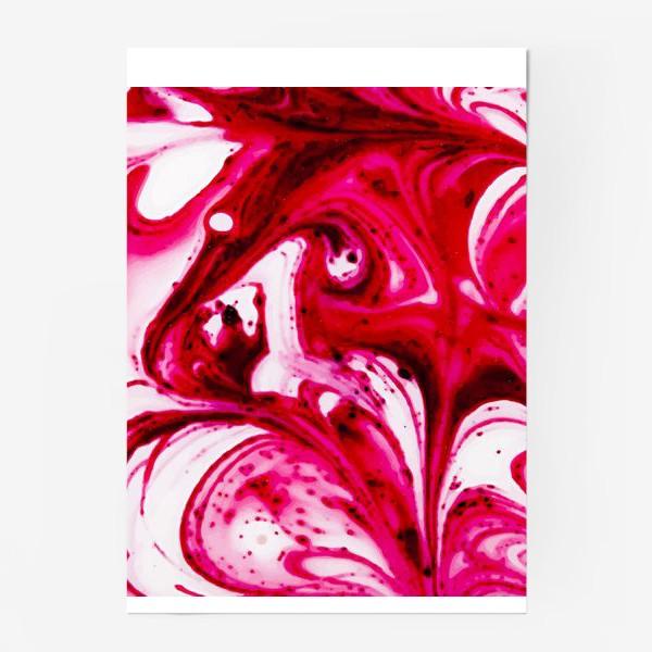 Постер «Розовые капли»