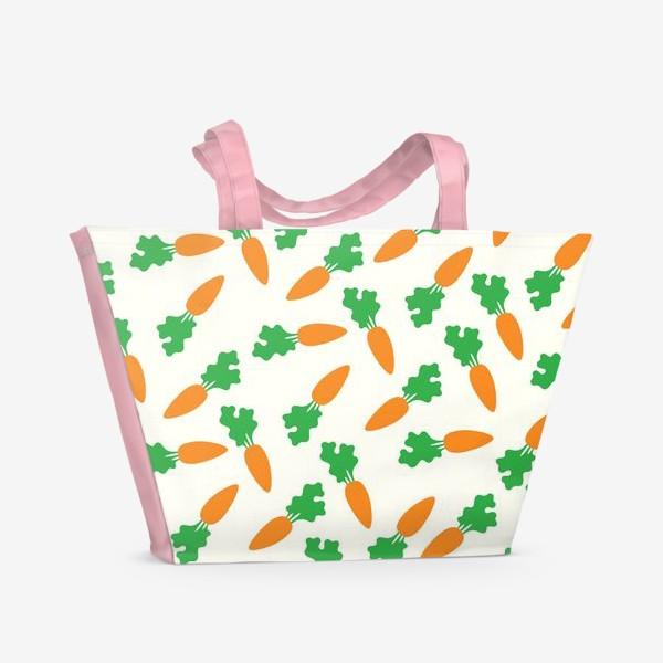 Пляжная сумка «Морковь»