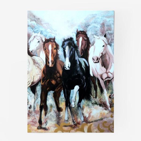 Постер «Табун лошадей»
