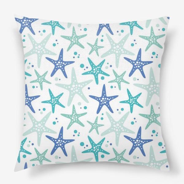 Подушка «Морские звезды»