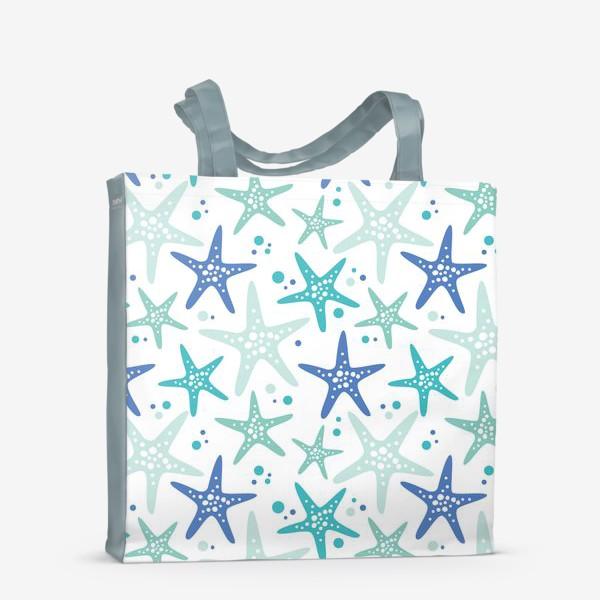 Сумка-шоппер «Морские звезды»