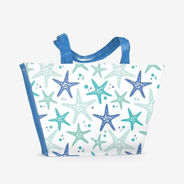 Пляжная сумка «Морские звезды»