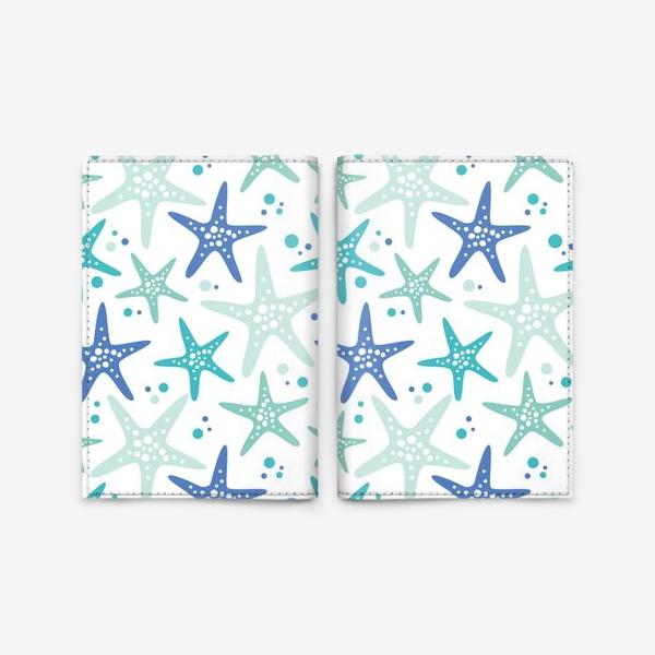 Обложка для паспорта «Морские звезды»