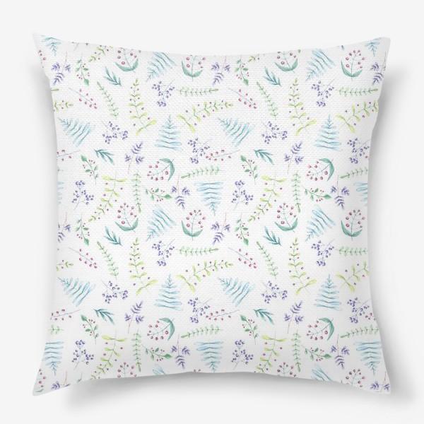 Подушка «Цветочный луг»