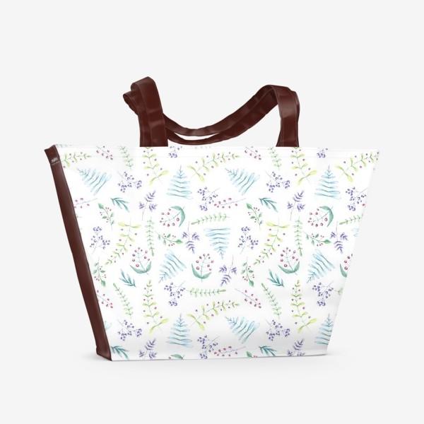 Пляжная сумка «Цветочный луг»
