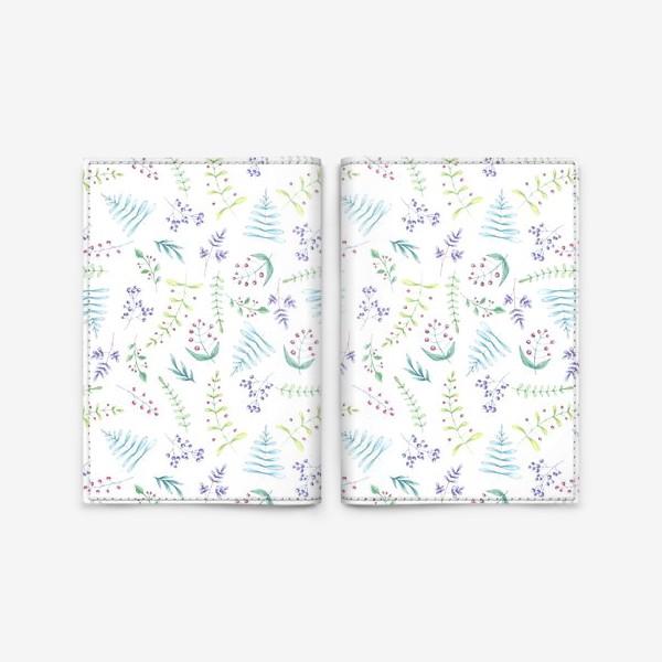 Обложка для паспорта «Цветочный луг»