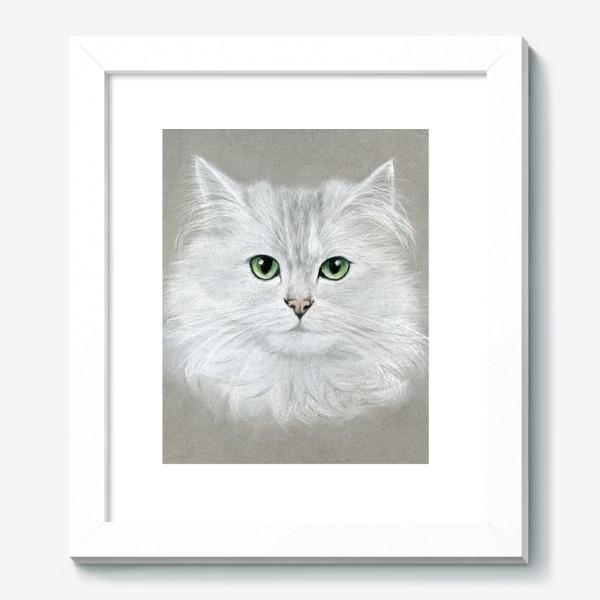 Картина «Белый кот»