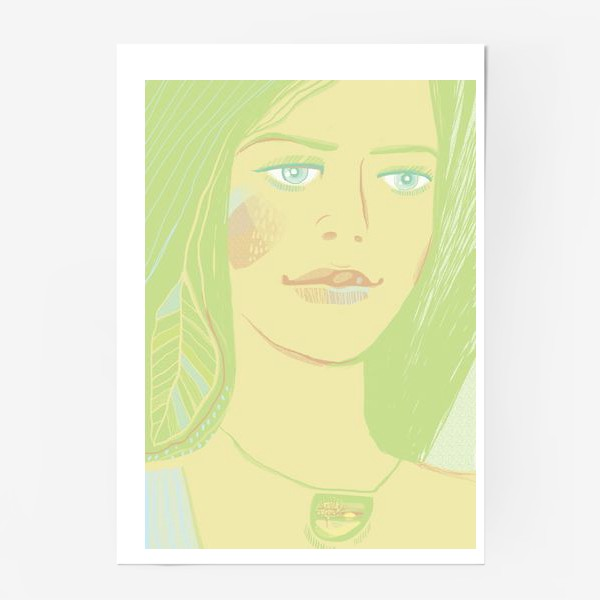 Постер «Spring girl»