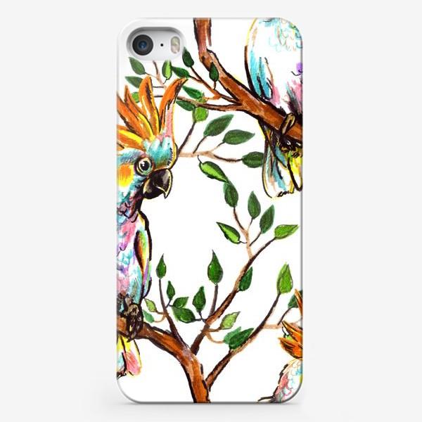 Чехол iPhone «какаду»