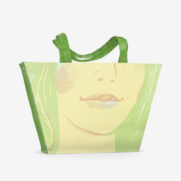Пляжная сумка «Spring girl»