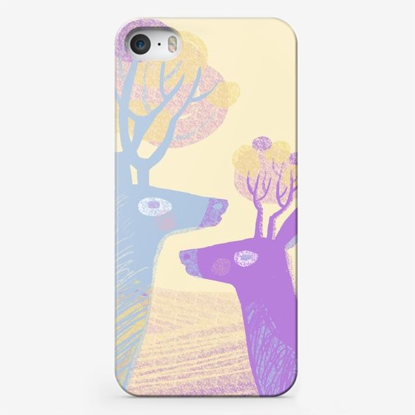 Чехол iPhone «Love the deer»