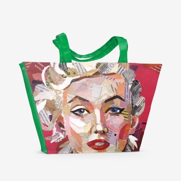 Пляжная сумка «Мерилин Монро»