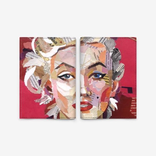 Обложка для паспорта «Мерилин Монро»