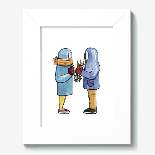 Картина «С тобой вкусно! / Букет из овощей»