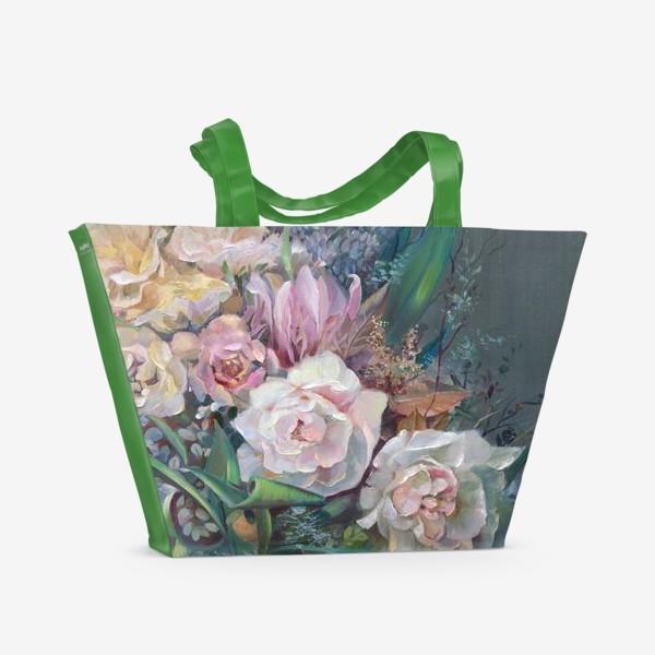 Пляжная сумка «ВЕЧЕРНИЙ БУКЕТ»