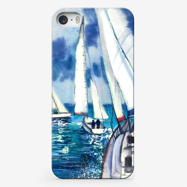 Чехол iPhone «Парусники»