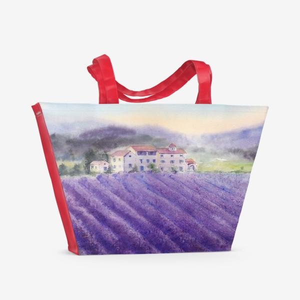 Пляжная сумка «прованс»