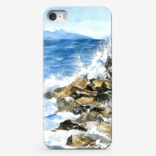 Чехол iPhone «Морские брызги»