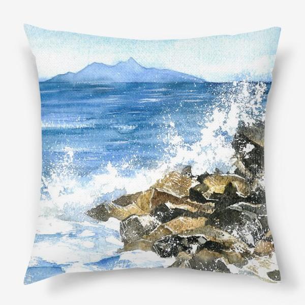 Подушка «Морские брызги»