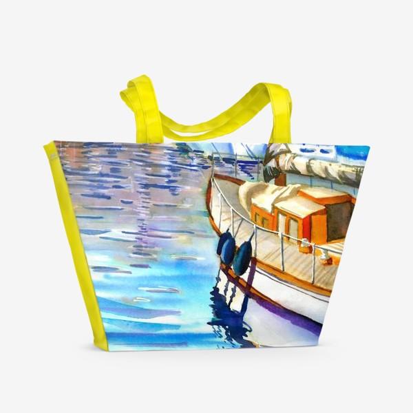 Пляжная сумка «Лодочная станция»