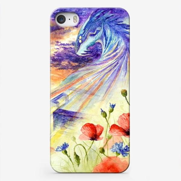 Чехол iPhone «Дракон - маршруты и адреса»