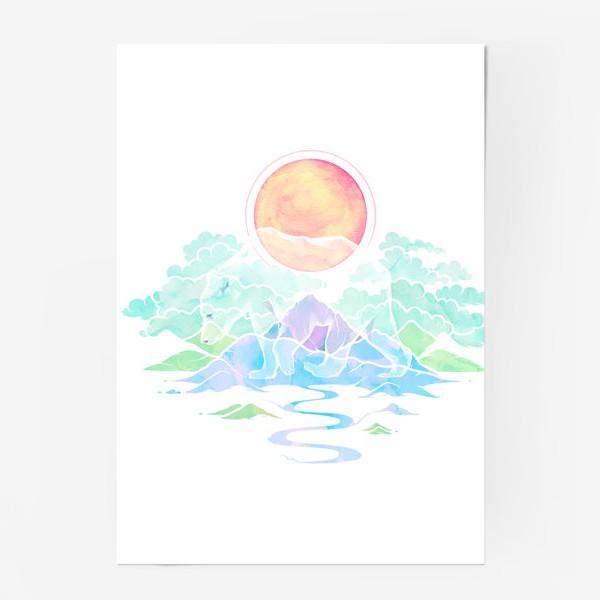Постер «Призрачный медведь   Нордическая сказка»
