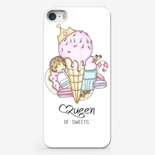 Чехол iPhone «Королева сладостей »