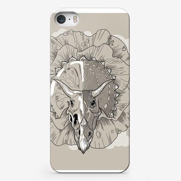 Чехол iPhone «Трицератопс»