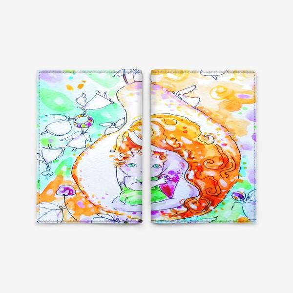 Обложка для паспорта «Сердцевинка»