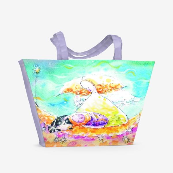 Пляжная сумка «Ангел»
