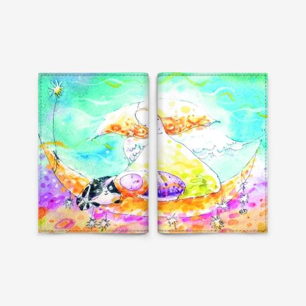 Обложка для паспорта «Ангел»