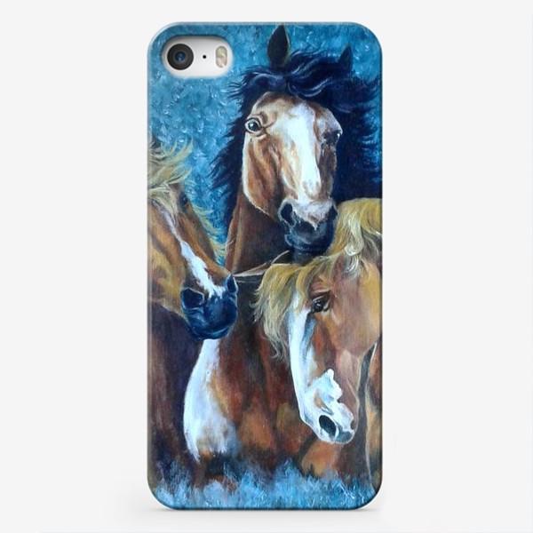 Чехол iPhone «Лошади»