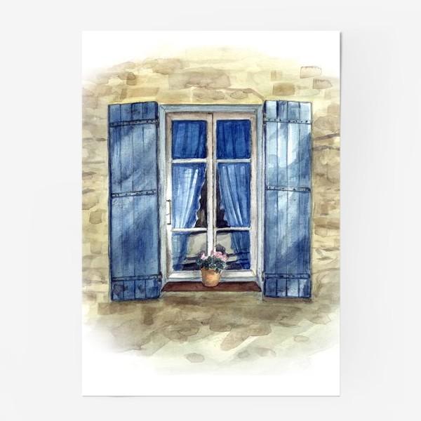 Постер «Прованское окошко»