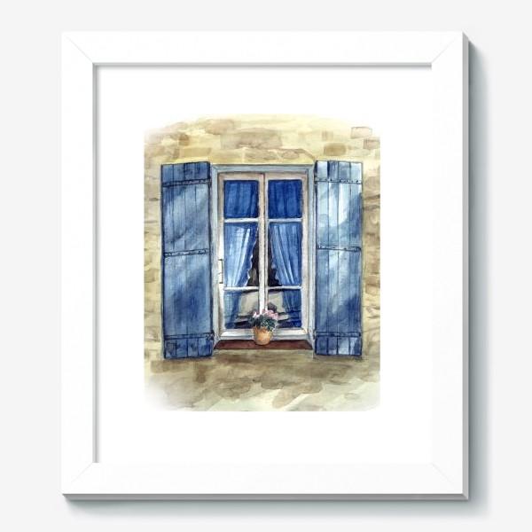 Картина «Прованское окошко»